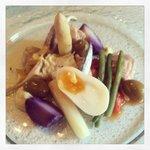 Tuna loin salad