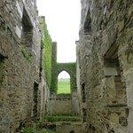 Clifden Castle interior