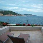 Fifth-floor balcony view