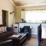 Kingfisher living area kitchen