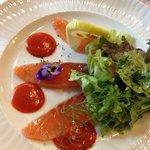 Rosace de saumon