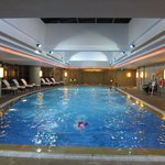 The 20 mt swimming pool on the 5th floor