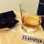 Oban whiskey con cioccolato fondente!