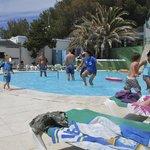 Kids pool and day time bar