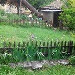 konağın bahçesi