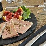 Foie gras mi cuit aux Figues du Jardin