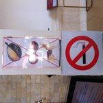 Signs everywhere