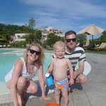 Family fun at the amazing pool.