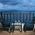Balcony overlooking paradise