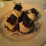 ricotta with honey walnut