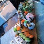Sushi variegato e buono!