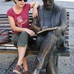 con el señor Gaudí
