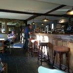 Iterior of pub