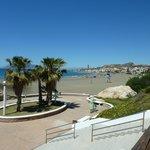 La Cala del Moral start of coastal walk