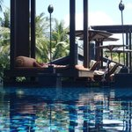 Lounges at lagoon