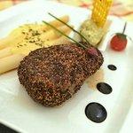 Flammen-Steak