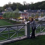 Bedford Springs at dusk