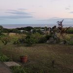 Before sunrise, sea view from the window (try to spot a MOAI!)