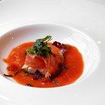 tuna, smoked salmon and mackerel (appetizer)