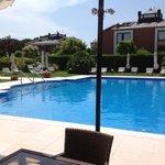 The peaceful pool...