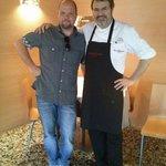 in compagnia dello chef Favaretto Franco