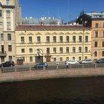 Вид из окна, 3 этаж без балкона, номер Комфорт