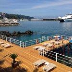 Private beach/decking
