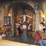 Sword dancing..!
