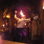 Fire eating..!