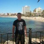 Outside Hotel Ibiza