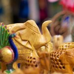 Handcarved animal and figurines