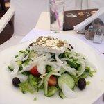 Greek Salad at Pane Di Capo