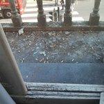 Messy balcony