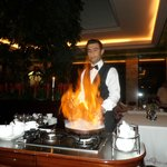 Flambe in the French