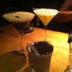 Alex's creations! Amazing cocktails!!