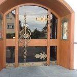 Front door, impressive!