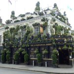 Lovely pub outdoor gardens