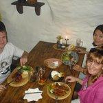 Ресторан в городе Чески Крумлов