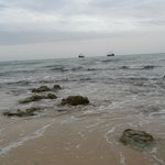 la mer à coté de l'hotel