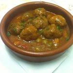 Somethings from tapas : meatballs