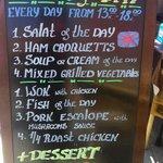3 cource set menu