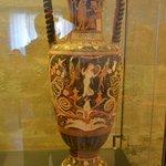 Amphora by the Aphrodite Painter, 330BCE