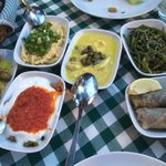 Selection of mezes