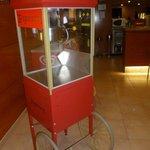 Popcorn machine! NOM.