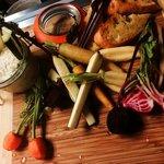 Farmers Market Tasting Board