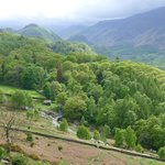 View to Borrowdale from above Barrow House