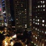 Vista noturna da janela - 15o andar
