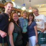 Our tour group with Tanya in the Candy Store Murphys