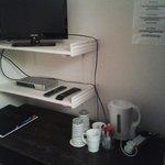 tv, coffee&tea facilitates