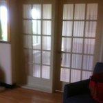Double Glass Pane Doors